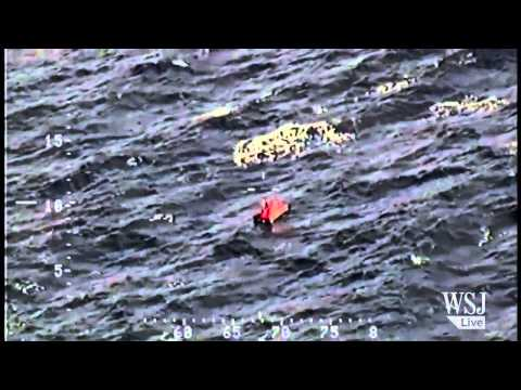 High Sea Rescue Caught on Video | Bearing Sea Fishing