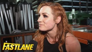 Becky Lynch vows to chase Ronda Rousey out of WWE at WrestleMania: WWE Exclusive, March 10, 2019