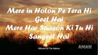 Rag Rag Mein Tu Hai(Lyrics) song By Sounds Of The Nations