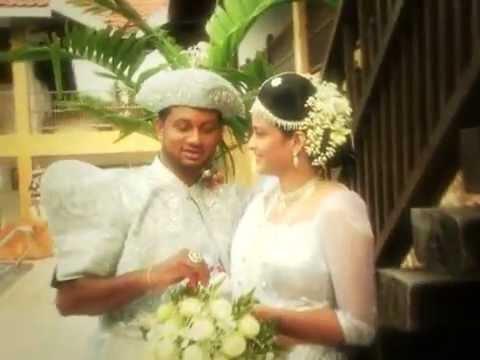 CHANAKA and SANDAMALI Wedding(Sagare tharam adare aran)