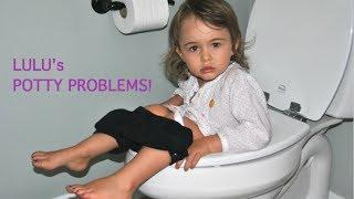 toddler lulu's potty problems video!