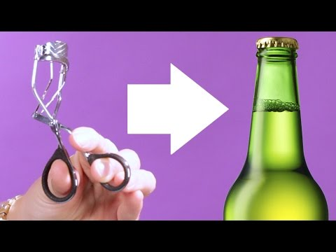 11 Ways To Open A Bottle With Things From Your Purse
