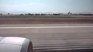 Opstijgend vliegtuig