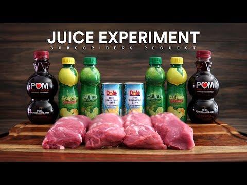 Sous Vide JUICE EXPERIMENT - Pork Tenderloin!