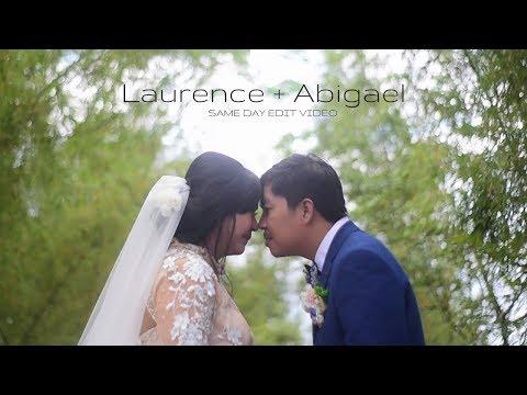 ABIGAEL AND LAURENCE WEDDING AT ESCALA TAGAYTAY