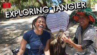 Exploring Tangier, Morocco
