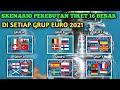 Skenario perebutan tiket 16 besar di setiap grup euro 2021