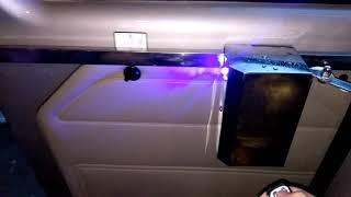 Cửa lùa tự động xe 16 chỗ Transit bản Ray Xích êm - Rambo Auto