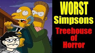 Awful Animations: Treehouse of Horror XXII