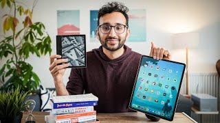 The BEST Way t๐ Read - Kindle vs iPad vs Books vs Audiobooks