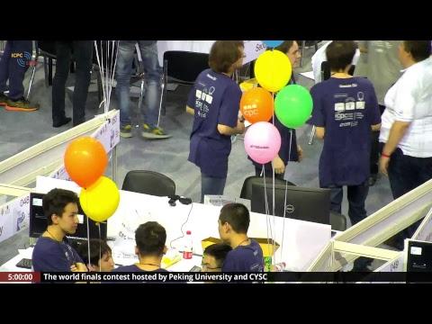 2018 ICPC World Finals, Chinese broadcast