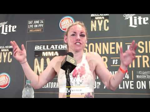 Bellator 180: Heather Hardy Reflects on MMA Debut: I just Fell in Love, I'm Hooked