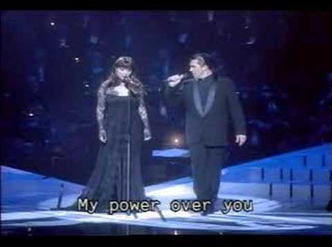 Phantom of the Opera(Sarah Brightman&Antonio Banderas live)