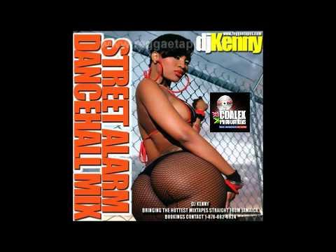 DJ KENNY STREET ALARM DANCEHALL MIX MARCH 2012