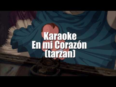 Karaoke En Mi Corazón Tarzan