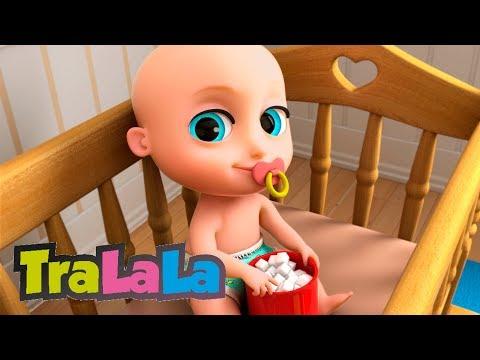 Bebe și tata (Johny, Johny Yes Papa în română) | TraLaLa
