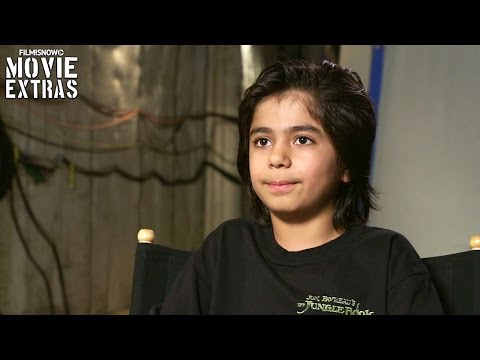 The Jungle Book | On-Set with Neel Sethi 'Mowgli' [Interview]