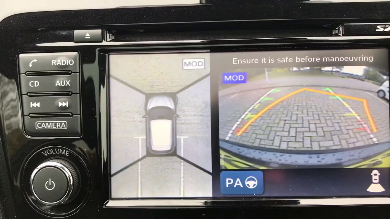 How it works....Nissan's 360 Degree Camera - YouTube