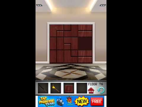 100 Floors Level 76 Floor 76 Solution Youtube