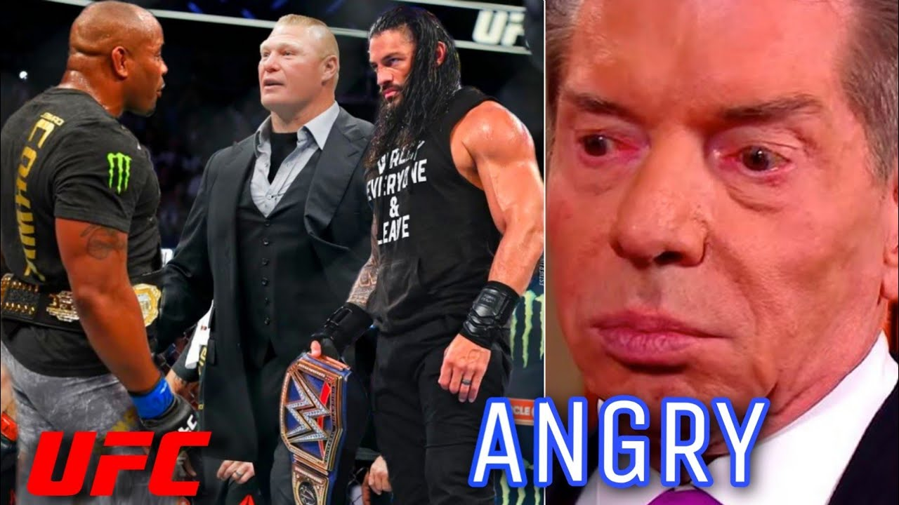 UFC Fighter Vs Roman Reigns/Brock Lesnar In WWE ? Vince McMahon Angry ! WWE SmackDown 09/18/20 !