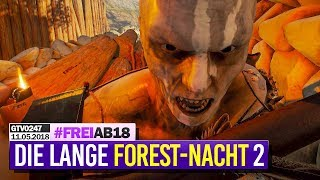 0247 🔴 THE FOREST-Nacht 2: Die BESTE Location + Bude 🔴 Gronkh Livestream | 11.05.2018