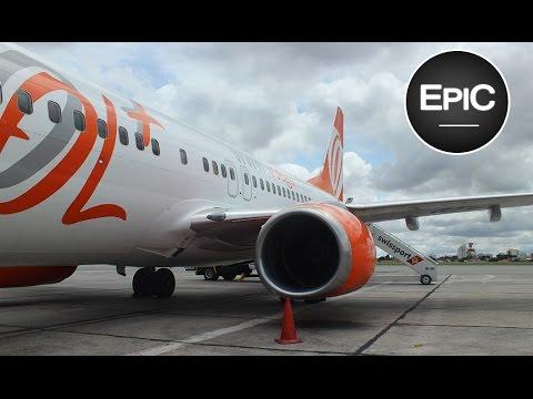 Landing at Curitiba, Brazil (Afonso Pena Airport) / Aterrizaje en Curitiba, Brasil (HD)