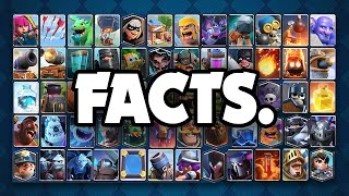 Facts about EVERY Card in Clash Royale