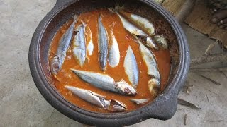 Village Style FULL FISH CURRY Prepared By My Mummy | Traditional Way to Cook | VILLAGE FOOD