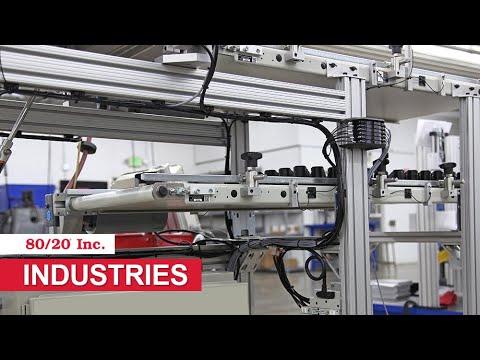 80/20 Inc: Industries