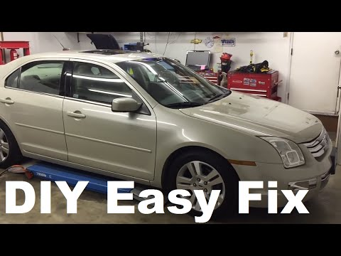 Ford Fusion Transmission Fluid And Filter Youtube