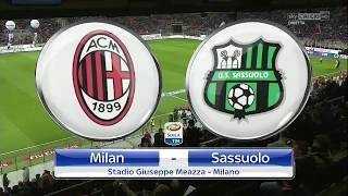 AC MILAN VS SASSUOLO 1-1 HIGHLIGHTS & ALL GOALS HD 8/4/18 IT