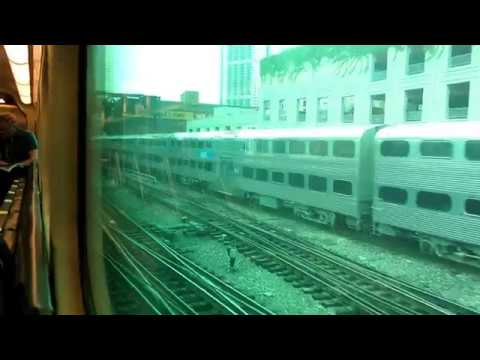 Metra UP West Line full ride (Chicago - Elburn)