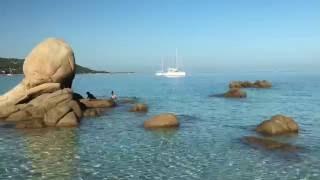 La plage d'Argent,  Mare é Sole :Corse Corsica