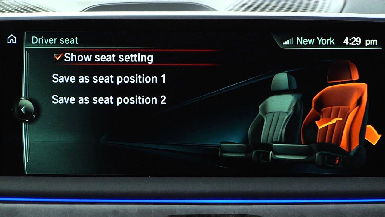 Adjusting Seats Bmw Genius How To