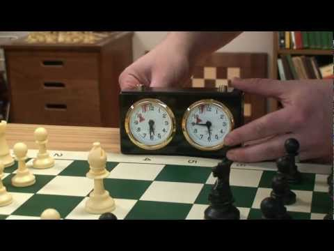 How to Use Classic Analog Chess Clock