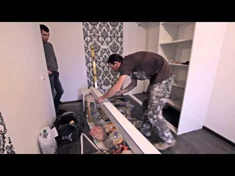 видео: Как собрать шкаф-купе своими руками. Видеоинструкция по установке.