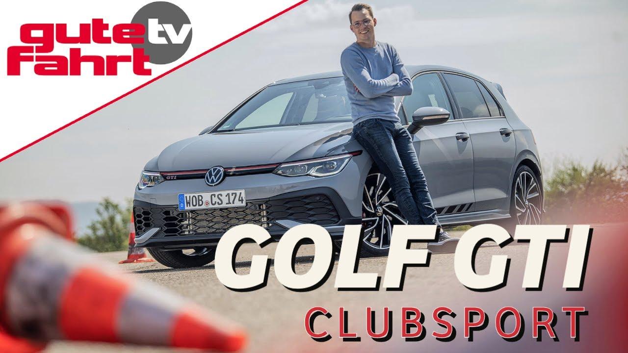 VW Golf 8 GTI Clubsport: Der extra-sportliche GTI mit 300 PS! Test | Drive | Sound | Review