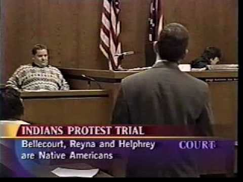 Bellecourt vs. Cleveland Indians - Court TV part 2