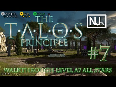 The Talos Principle Walkthrough Level A7 (1/1 Star) |