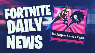 Fortnite Daily News *NEW* DUNGEON & FREE V-BUCKS (9 Januar 2019)
