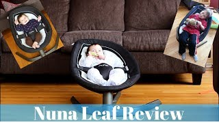 Nuna Leaf Review - Baby Swing