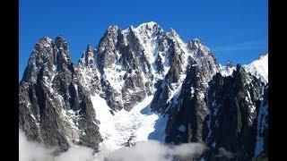Climbing the Petit Dru, Chamonix Mt Blanc