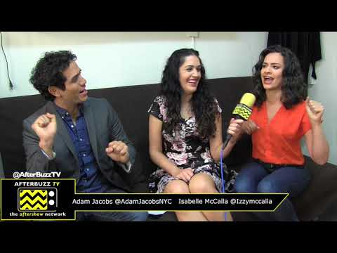 Backstage Interview with Broadways Aladdin National Tour Cast Adam Jacobs & Isabelle McCalla