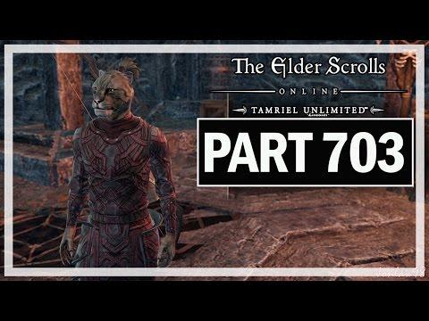 The Elder Scrolls Online Walkthrough Part 703 Khajiit's Tale - Let's Play Gameplay