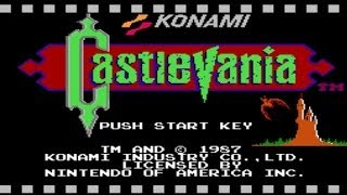 Let's Play CASTLEVANIA 1 - Walkthrough with Commentary (nintendo) nes