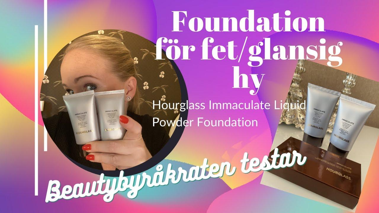 foundation för glansig hy