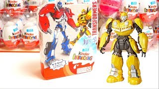 4er Surprise Egg unboxing Transformers Toys and Candy