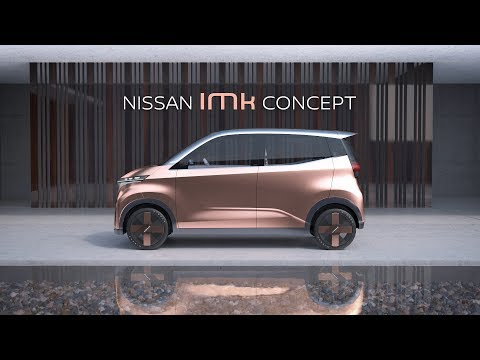 Nissan offers glimpse of electric city car future