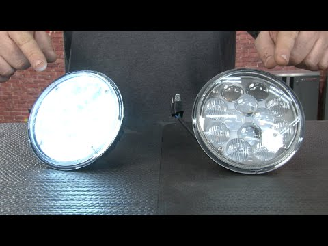 Mustang Oracle 5 3 4 Quot Led Replacement Headlights 1969