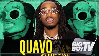 Quavo on Touring w/ Drake, Winning an AMA & His Relationship Status